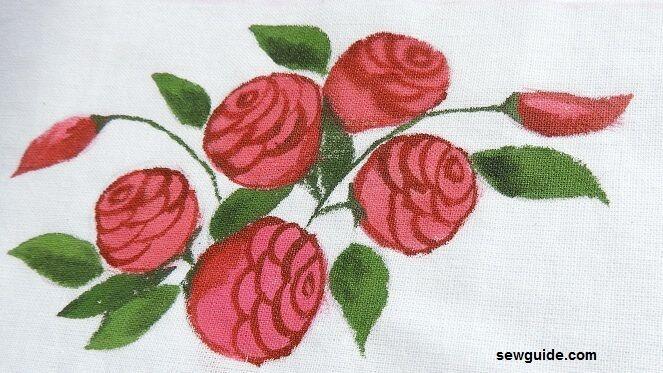 como dibujar y pintar una flor rosa