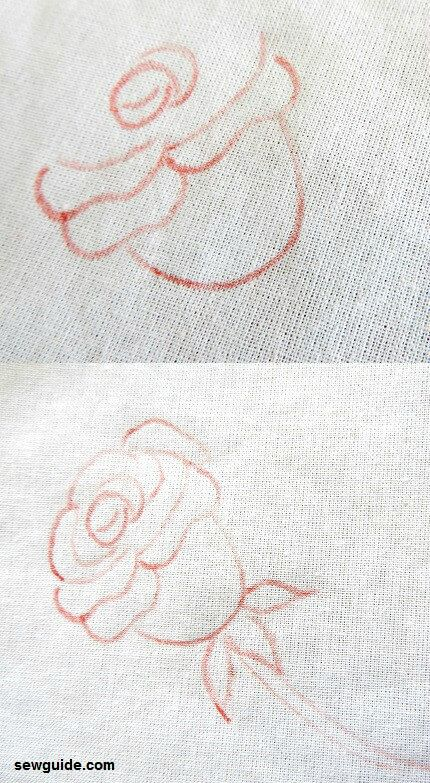 pintura rosa simple