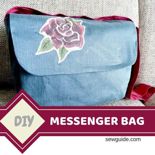 patrón de bolsa de mensajero