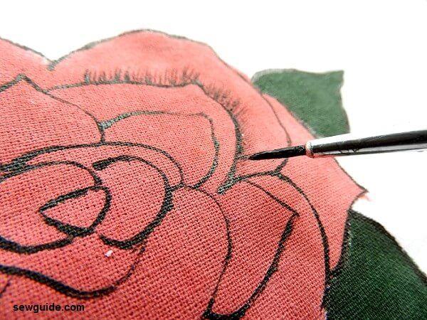 tutorial de pintura de rosas fácil