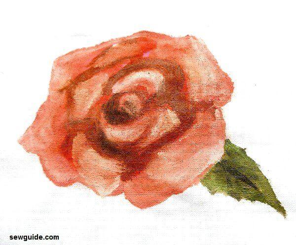 pintura rosa fácil