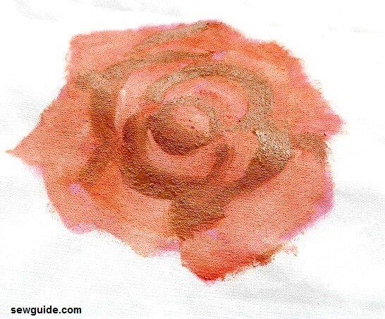 como pintar una rosa con acrílicos para principiantes