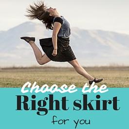 elige el estilo de falda adecuado para ti