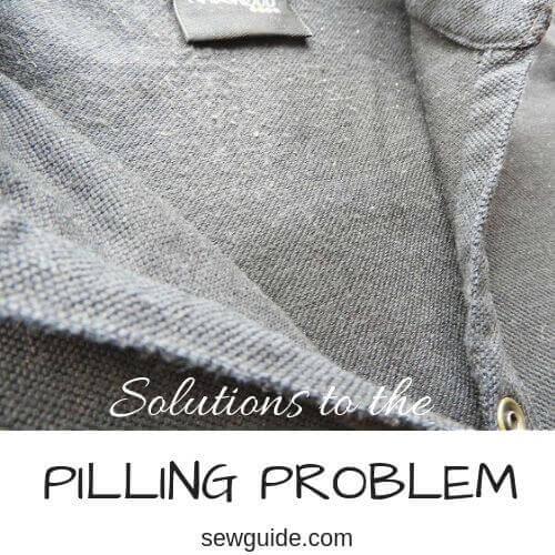 Cómo prevenir el pilling en la tela