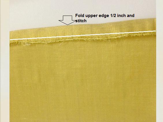 hacer una bolsa de regalo hecha de tela
