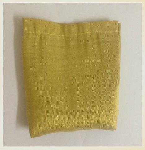 como hacer una pequeña bolsa de tela