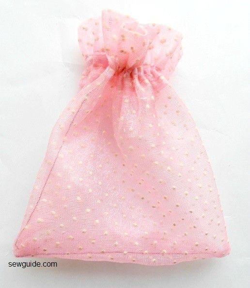 bolsa de regalo con cordón