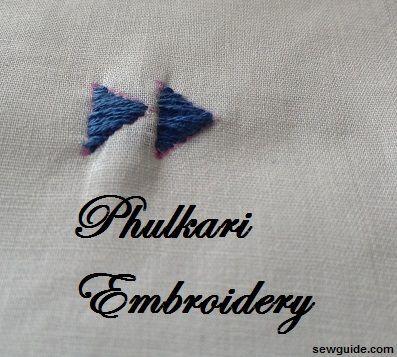trabajo phulkari