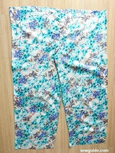 coser pantalones plazzo