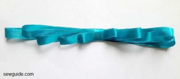 tutorial de fabricación de lazo de cinta
