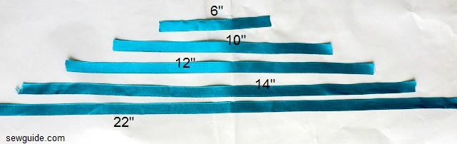 arco de la cinta diy tutoriales