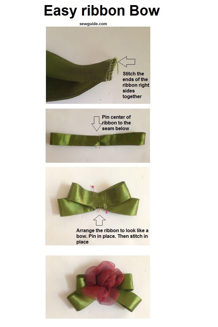 hacer un lazo de cinta