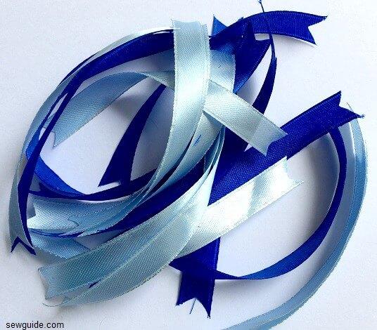 arcos de cinta de bricolaje