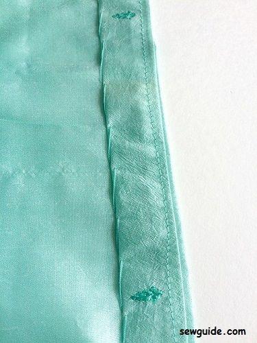 como coser un kimono