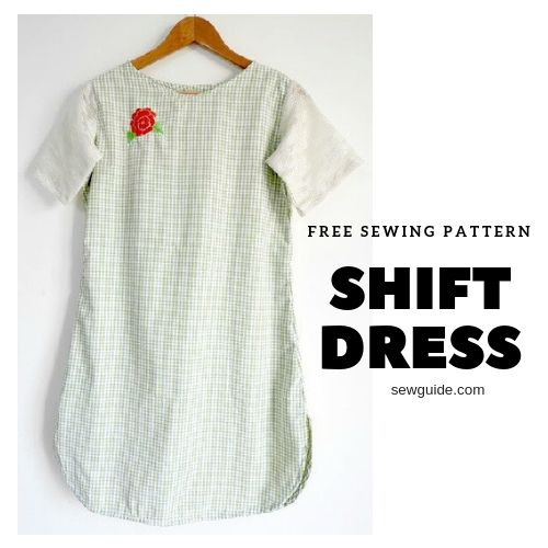 coser un vestido recto