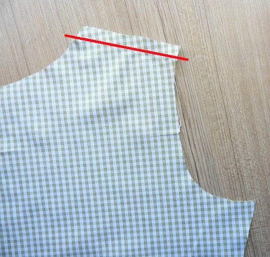 hacer un patrón de costura vestido de cambio