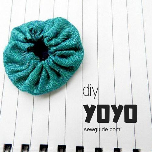 hacer un yoyo con tela