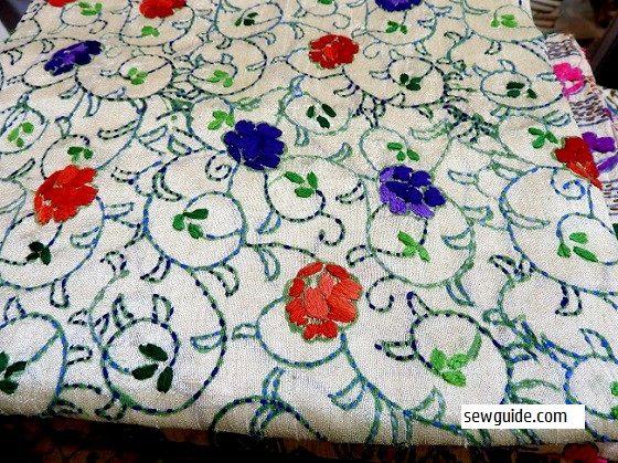 como lavar saris