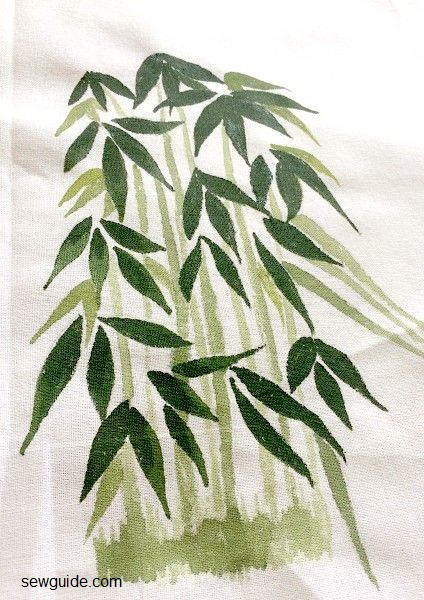 técnicas de pintura de tela