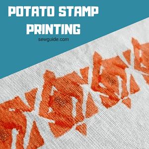 impresión de sellos de papa