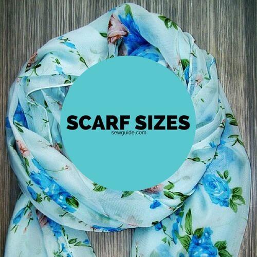 tamaños de bufanda