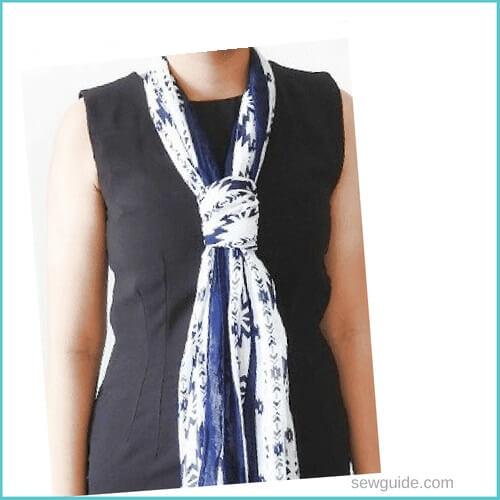 estilos de bufanda de cuello