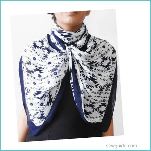 estilos de atar la bufanda