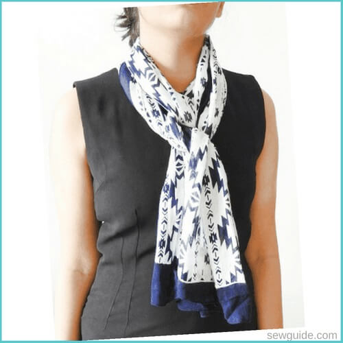 formas de atar una bufanda