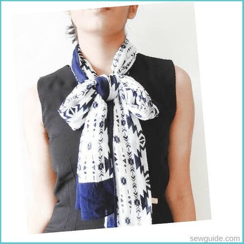 como atar una bufanda