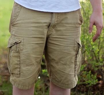 diferentes tipos de pantalones cortos