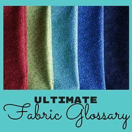 elige tela para coser ropa
