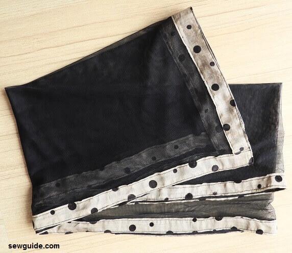 coser una bufanda