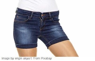 hacer jeans cortados