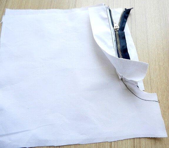 pantalones cremallera mosca instrucciones de costura