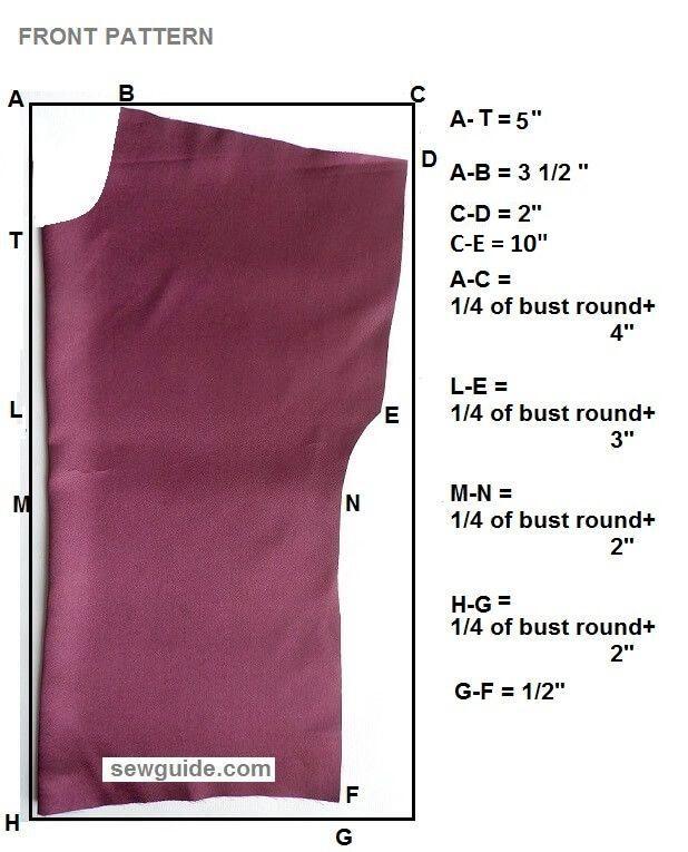 patrón de costura diy superior con mangas con volantes