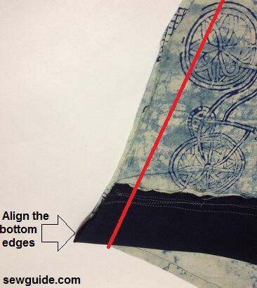 patrón de costura para túnica