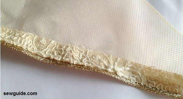 coser un vestido de panel