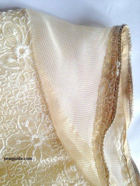 hacer patrón de vestido de panel