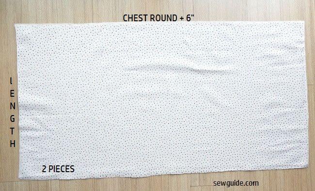 coser un vestido simple reunido