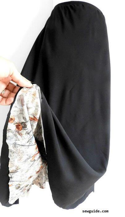 falda reversible de bricolaje