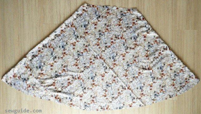 falda reversible