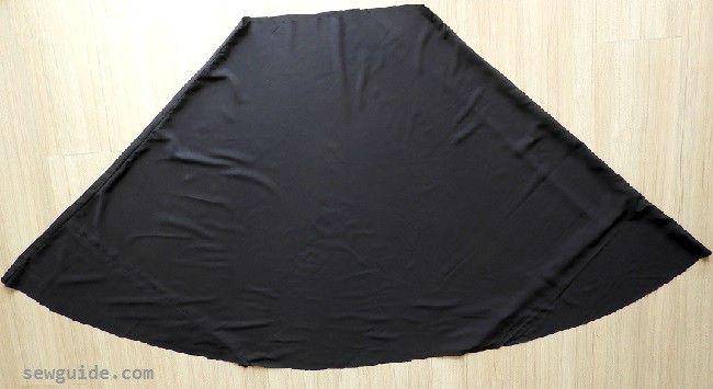 falda completa reversible