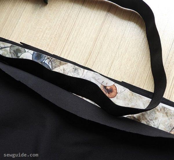 coser una falda completa-falda reversible