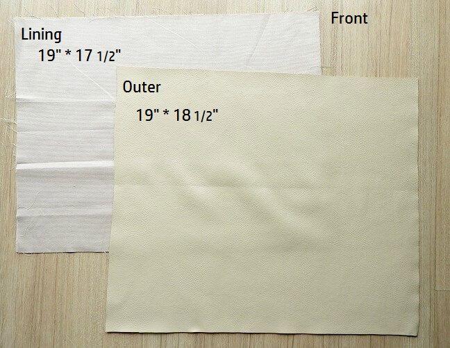 como coser una mochila