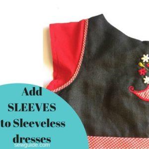 Añadir mangas a los vestidos sleevelss