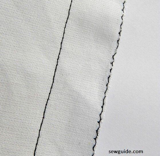 coser costuras lisas