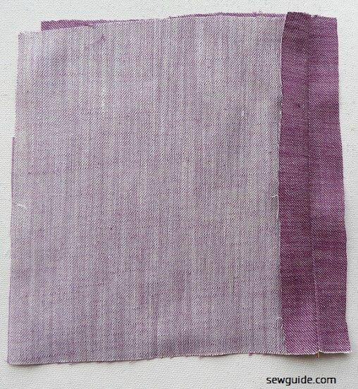 tutorial de costura de cremallera lapeada para vestidos