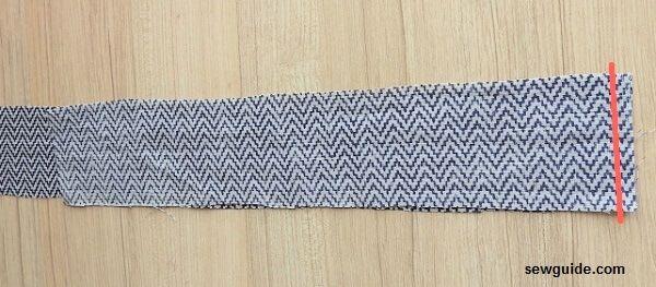tutorial de costura de falda dividida