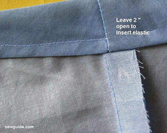 patrón de falda dividida culotte