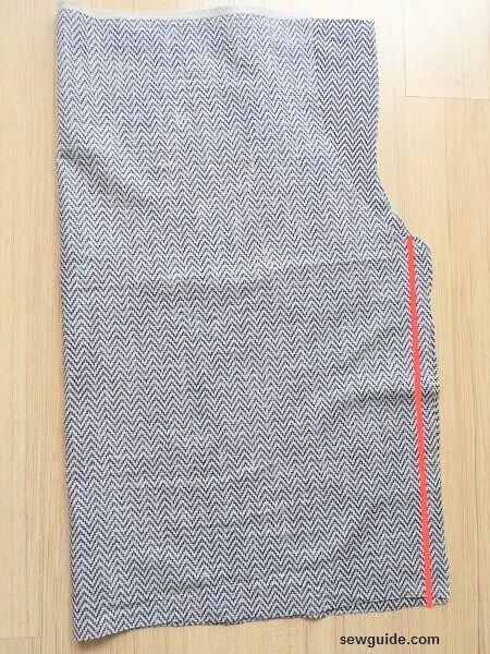 patrón culotte